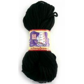 zwart Soedanwol  van Scheepjeswol