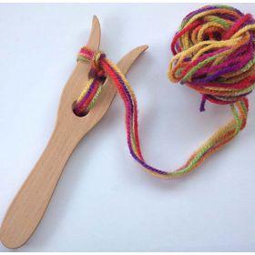Houten Breivork punnik vork