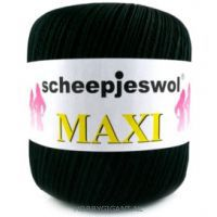 zwart Maxi van Scheepjes, dun katoen