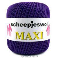 paars Maxi van Scheepjes, dun katoen