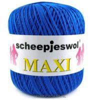 blauw Maxi van Scheepjes, dun katoen