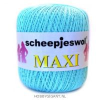 groen Maxi van Scheepjes, dun katoen