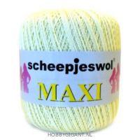 geel Maxi van Scheepjes, dun katoen