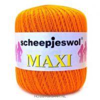 oranje Maxi van Scheepjes, dun katoen