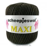 bruin Maxi van Scheepjes, dun katoen