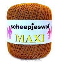 cognac Maxi van Scheepjes, dun katoen