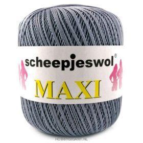 grijs Maxi van Scheepjes, dun katoen