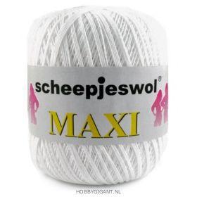 beige Maxi van Scheepjes, dun katoen